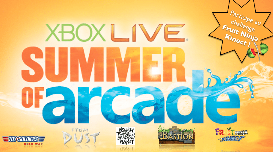Compte rendu : Fan Day Summer of Arcade 2011