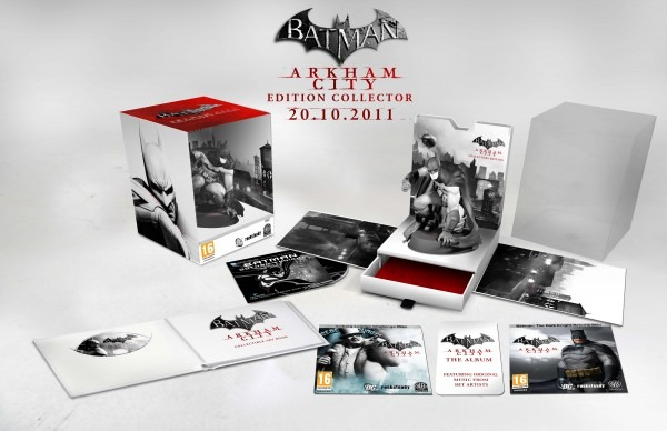 [Pré-commande] Batman Arkham City : Edition Collector + image de la figurine