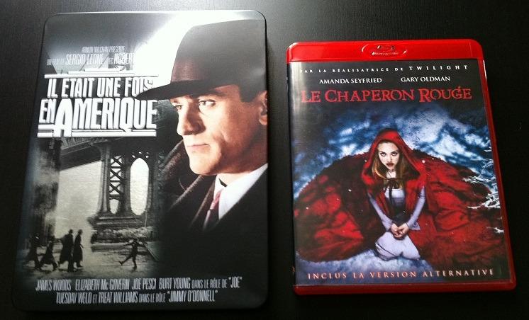 Arrivage : Blu-Ray Il était une fois l'Amérique et Le chaperon rouge