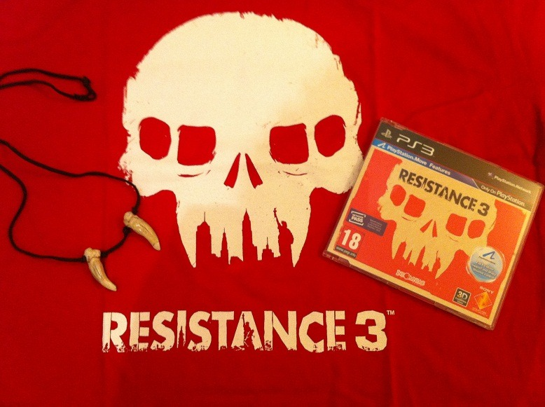 Arrivage : Resistance 3 + goodies