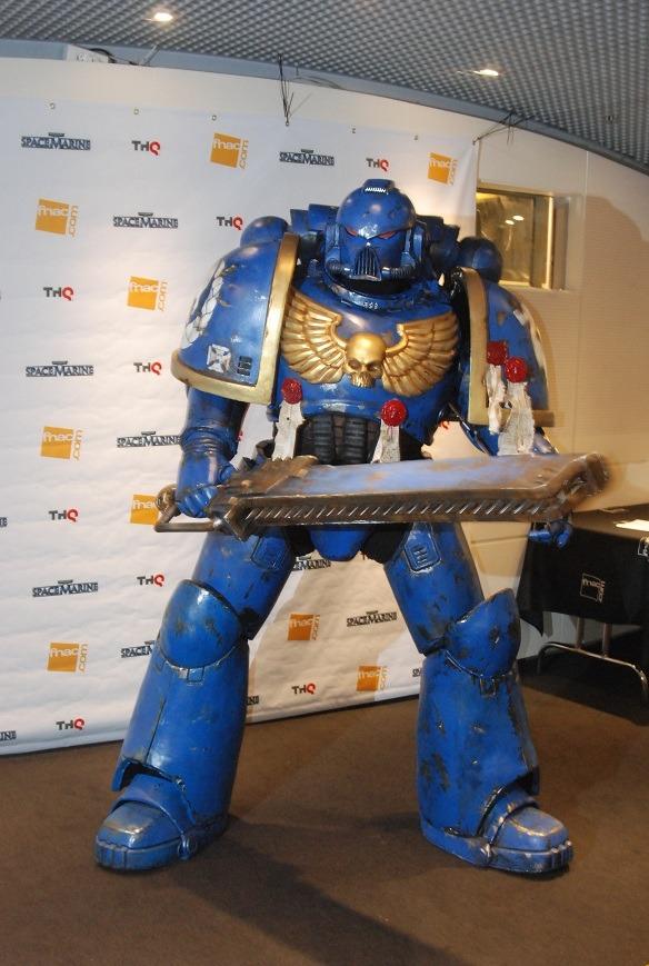 Compte rendu : Présentation Warhammer 40,000 Space Marine