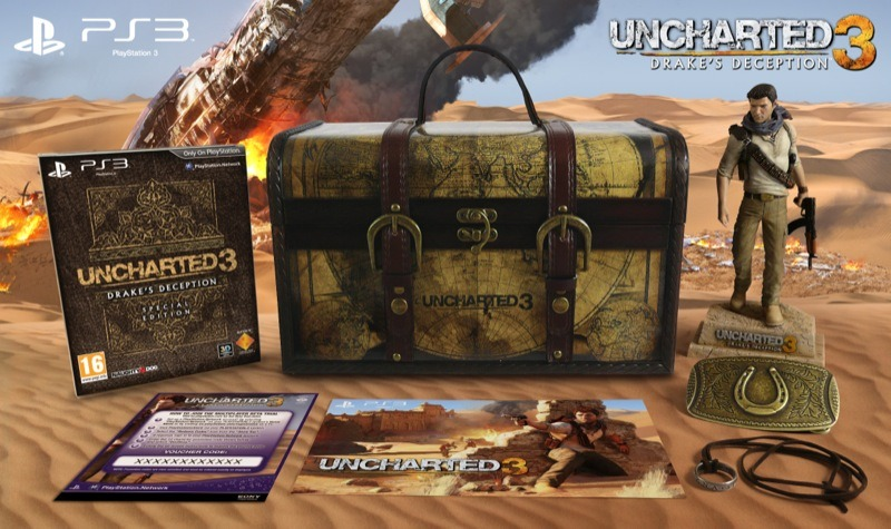 Toutes les informations sur l'Edition Explorer d'Uncharted 3 : L'Illusion de Drake