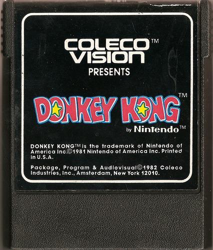 Rétro-Test : Donkey Kong sur ColecoVision