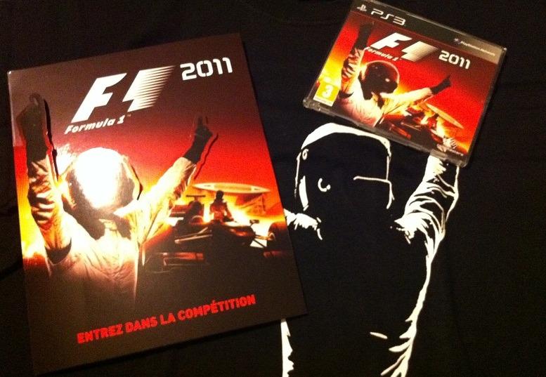 Arrivage : F1 2011 + Kit Press
