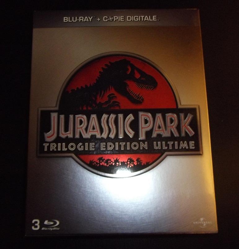 Achat : Jurassic Park – Trilogie Edition Ultime