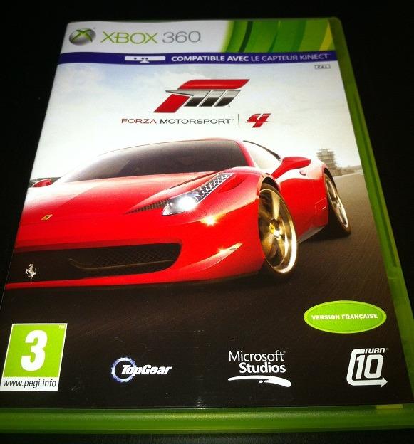 Arrivage : Forza Motorsport 4