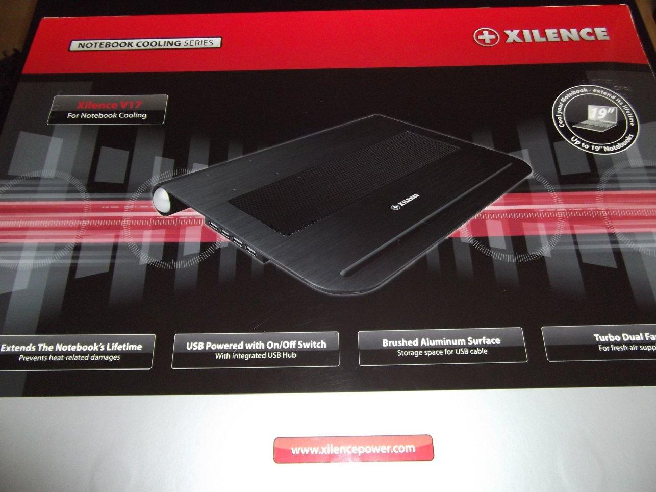 Test : Xilence V17 – Système de refroidissement pour Ordinateur portable