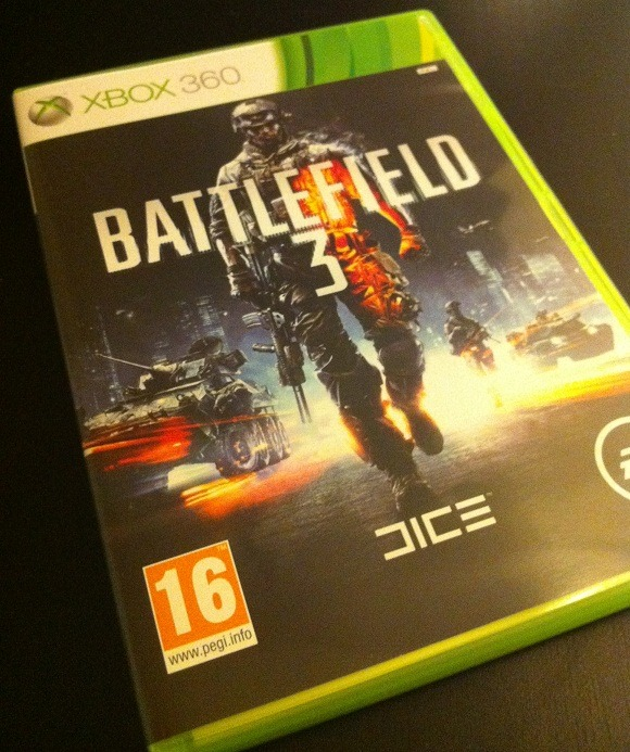 Arrivage : Battlefield 3 sur Xbox 360