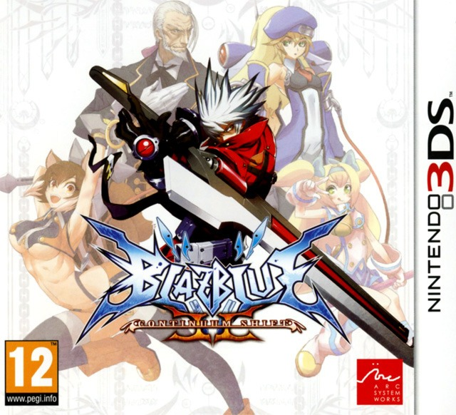 Test : Blazblue Continuum Shift II 3DS