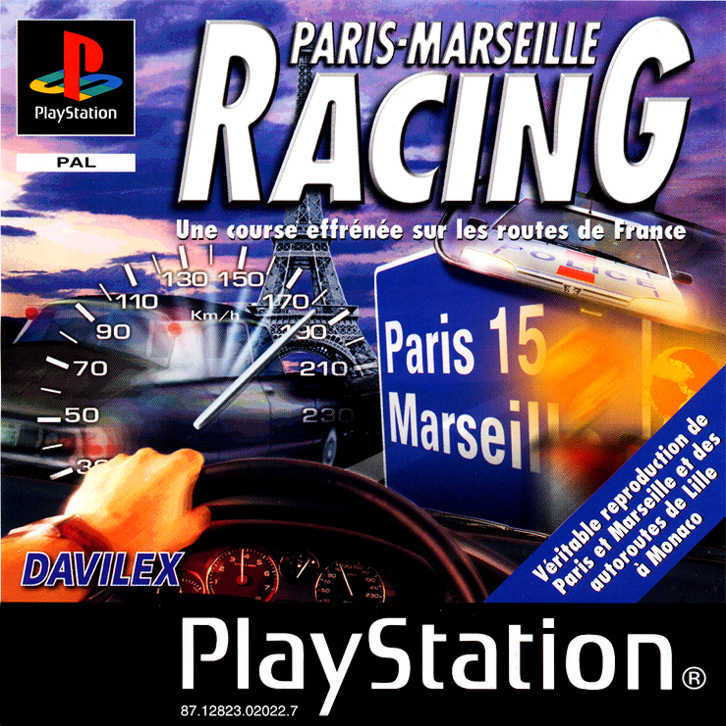 Rétro Test : Paris-Marseille Racing sur PS1