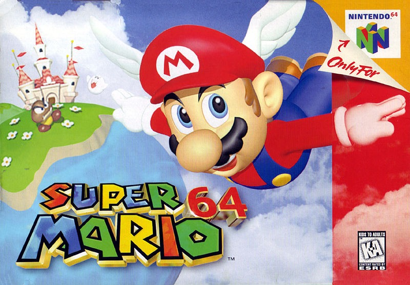 Rétro Test : Super Mario 64 sur Nintendo 64