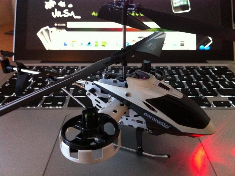 Avis / Test : Hélicoptère télécommandé Avatar Copter par Paranello