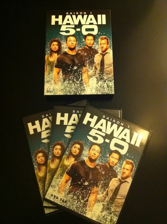 Arrivage : Hawaii 5-0 saison 1 en DVD