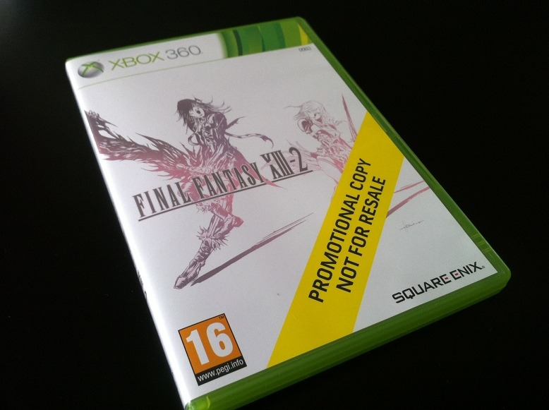 Arrivage : Final Fantasy XIII-2 sur Xbox 360