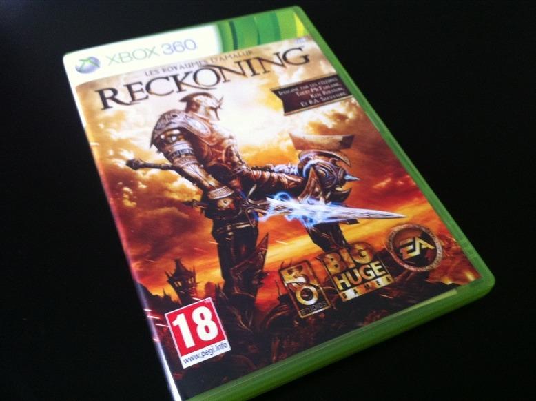 Arrivage : Les Royaumes d'Amalur : Reckoning sur Xbox 360