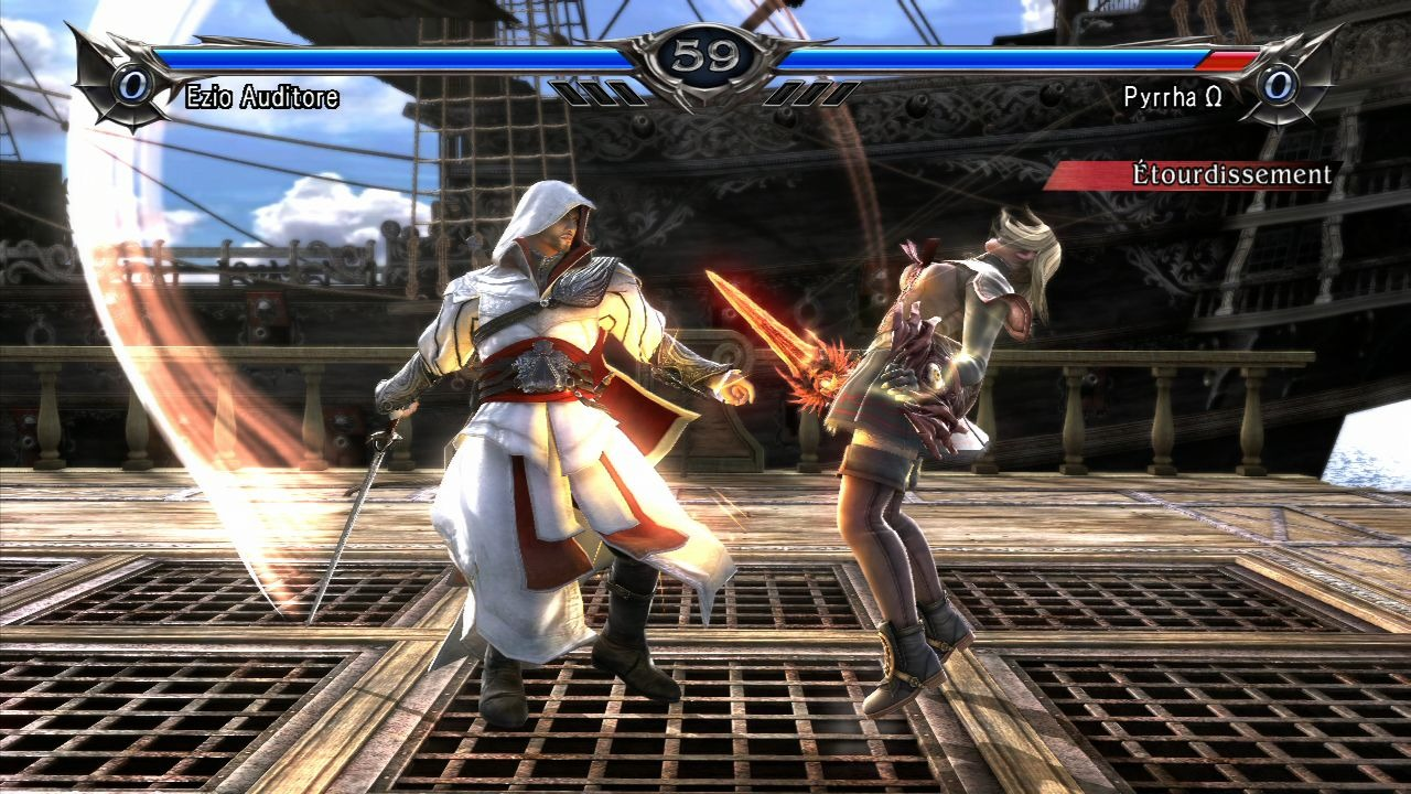 Test : SoulCalibur V