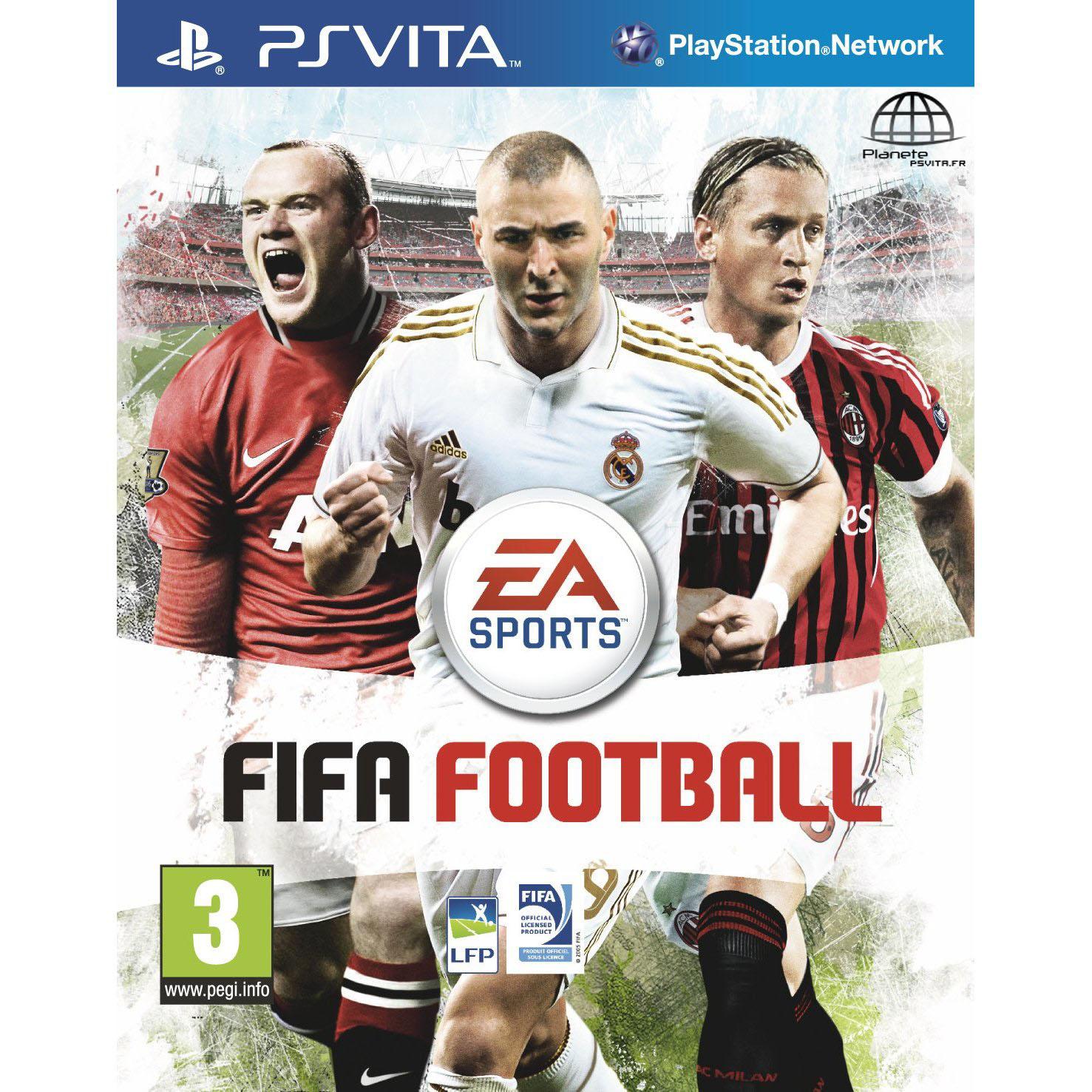 Test : FIFA Football sur PS Vita
