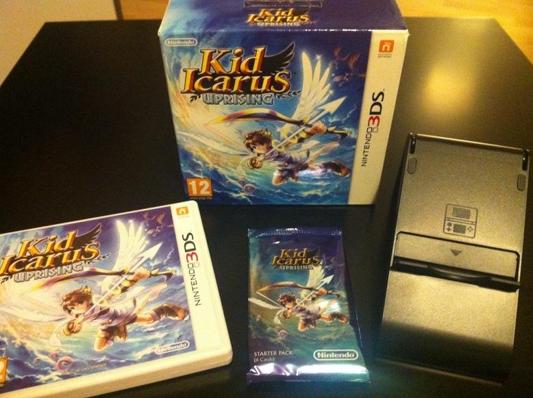 Arrivage : Kid Icarus Uprising sur 3DS