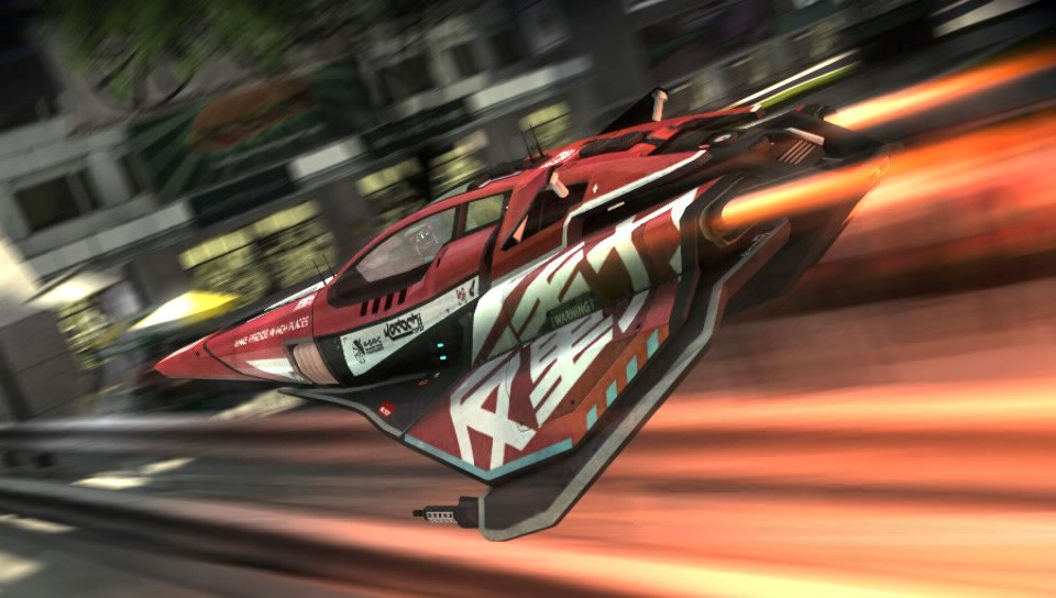 Test : WipEout 2048 sur PS Vita