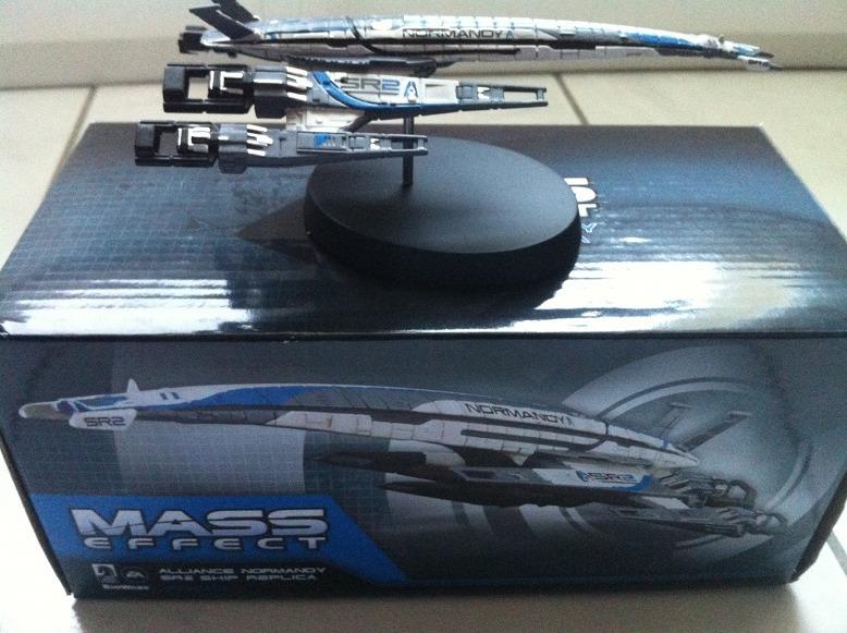 Concours : Gagnez la figurine du Normandy de Mass Effect 3