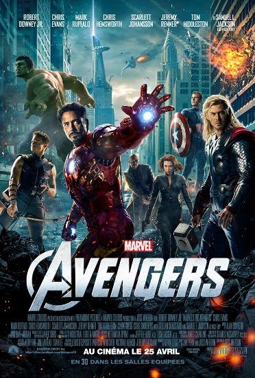 Concours : Gagnez 10 places de cinéma pour AVENGERS (Marvel)