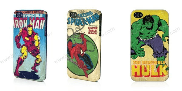 Concours : Gagnez une coque Marvel iPhone 4/4S – Edition collector