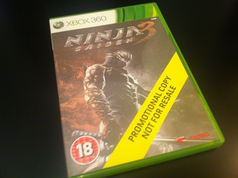 Arrivage : Ninja Gaiden 3 sur Xbox 360