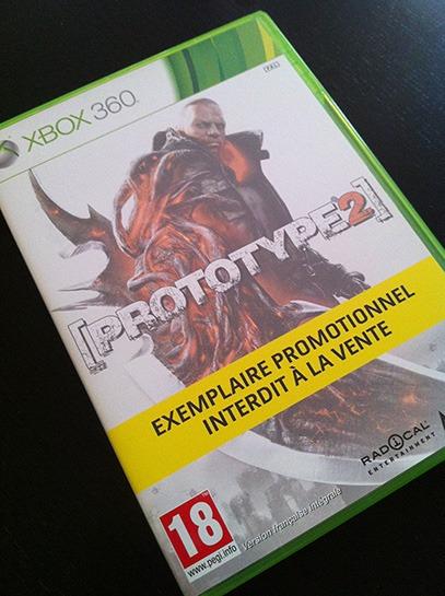 Arrivage : Prototype 2 sur Xbox 360