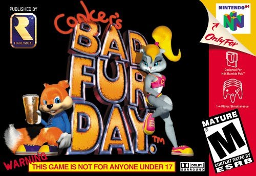 Rétro Test : Conker's Bad Fur Day sur Nintendo 64