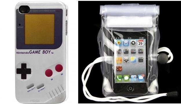 Concours : Gagnez une coque Gameboy pour iPhone 4/4S et 5 pochettes waterproof