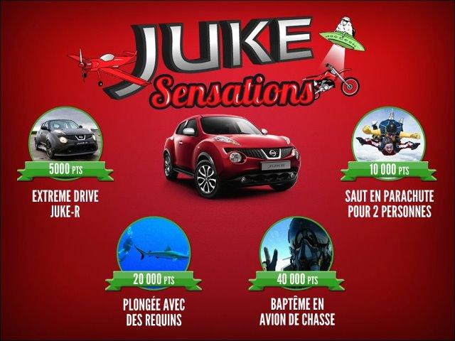 Vidéo Sponsorisé : Nissan Juke – Concentré de sensations