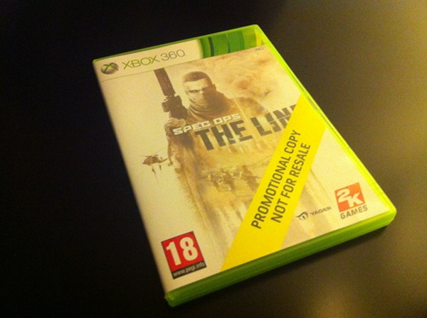 Arrivage : Spec Ops : The Line sur Xbox 360