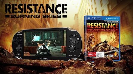 Concours Anniv' : Gagnez Resistance Burning Sky (PS Vita) et ses goodies