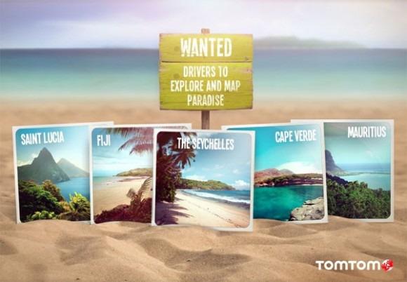 [Vidéo Sponso] TomTom recherche 5 conducteurs pour explorer et cartographier cinq îles de rêves