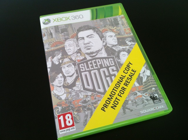 Arrivage : Sleeping Dogs sur Xbox 360