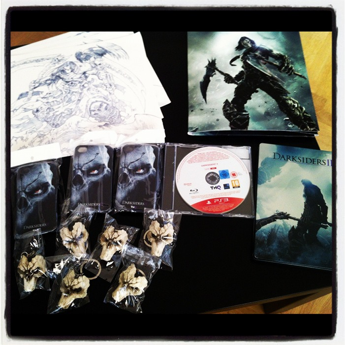 Arrivage : Darksiders 2 et ses goodies