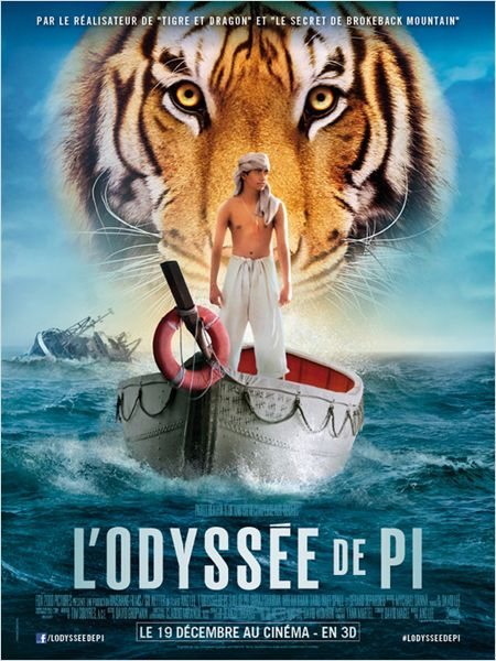 [Cinema] Avis/Critique : L'Odyssée de Pi (The Life of Pi).