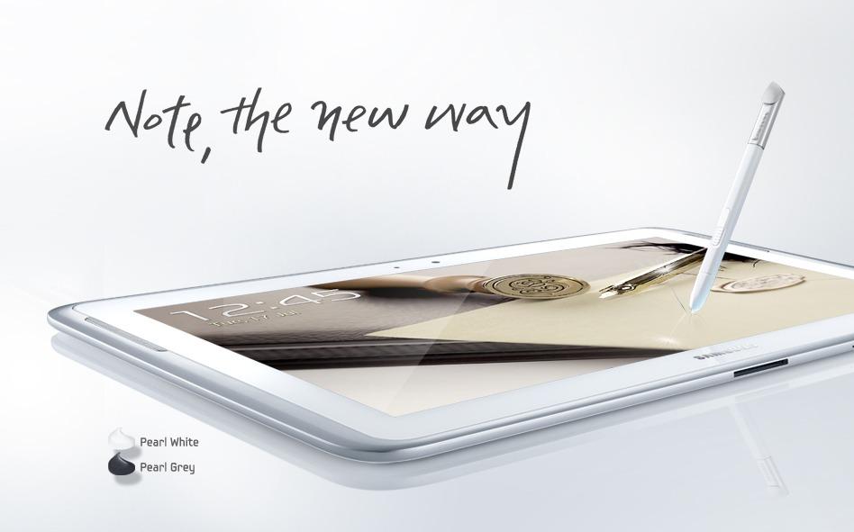 Libérez votre créativité avec le Samsung GALAXY Note 10.1 – Vidéo Sponsorisée