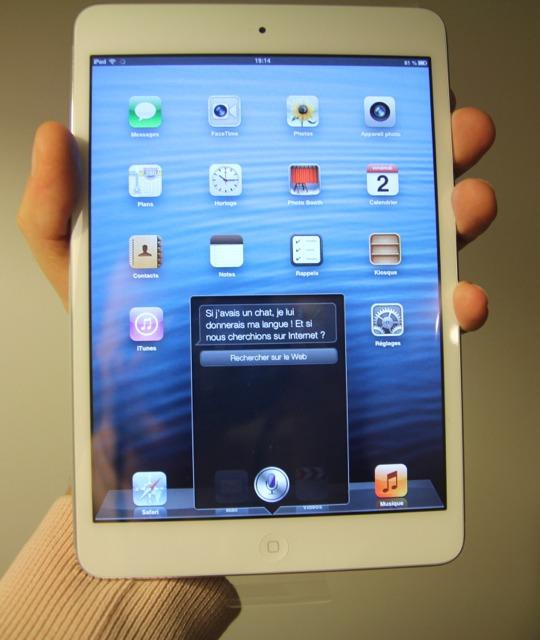 Déballage et Avis : iPad Mini