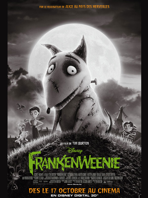 [Cinema] Avis/Critique : Frankenweenie
