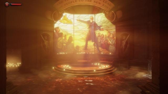 La religion est omniprésente dans Bioshock Inifnite.