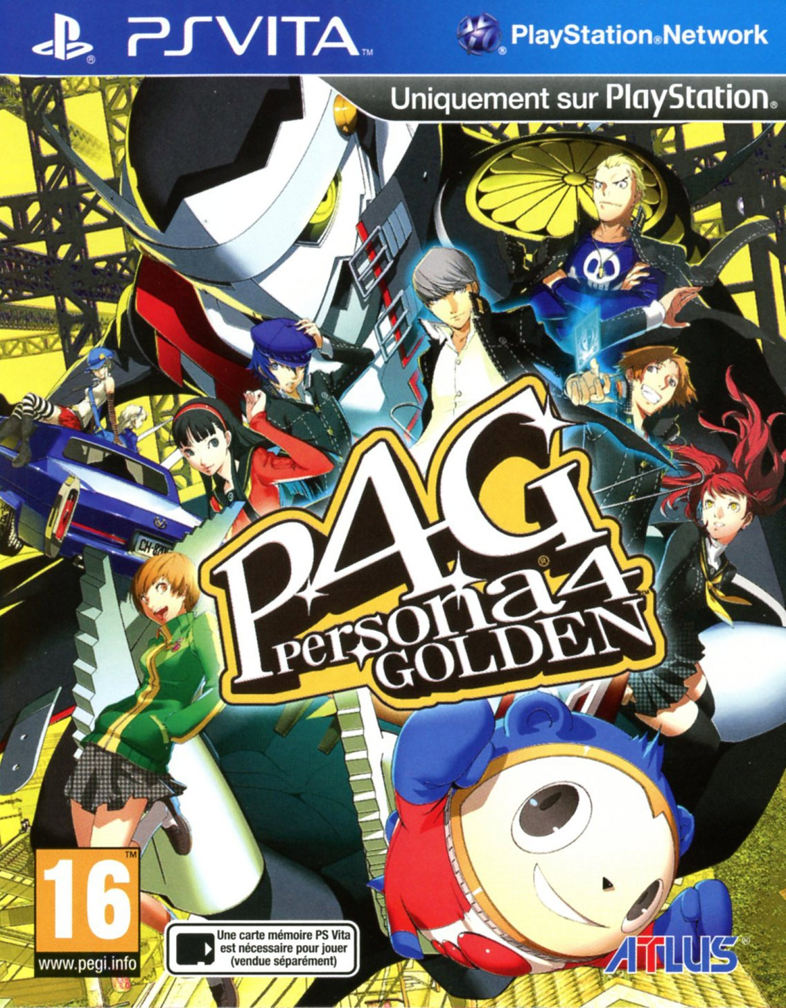 Test : Persona 4 the Golden