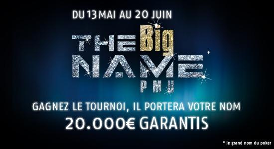 PMU présente The Big Name [Vidéo sponsorisée]