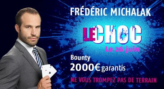 Le Choc – Affrontez Frédéric Michalak au Poker – vidéo sponsorisée