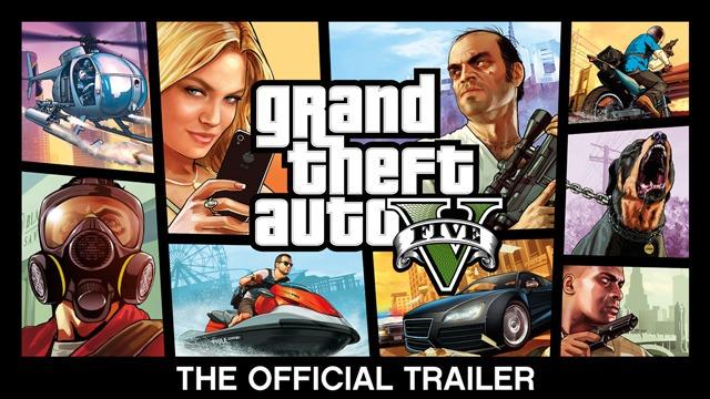 GTA V : découvrez le trailer officiel