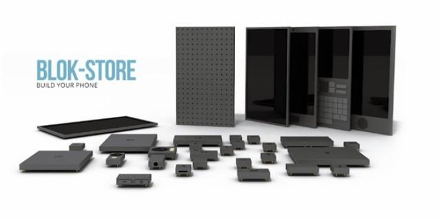 """Ajouter de la mémoire vive, un plus gros capteur photo-vidéo, une énorme batterie ou une plus petite pour avoir la place d'ajouter d'autres fonctionnalités, les combinaisons sont innombrables et chaque bloc-composant serait disponible à la commande sur le """"Blok-Store"""" de l'appareil."""
