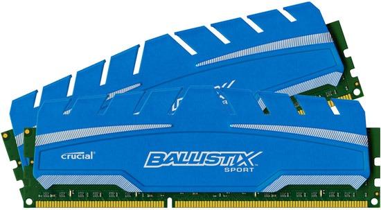 Concours : Gagnez un kit Ballistix Sport XT de 8GO (barrettes mémoire)