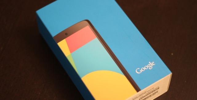 Déballage du Google Nexus 5 !