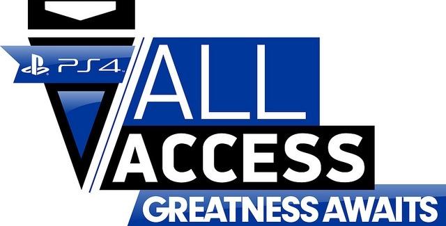 Toutes les annonces du PS4 All Access