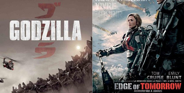 [Cinéma] Avis / Preview : Godzilla / Edge of Tomorrow